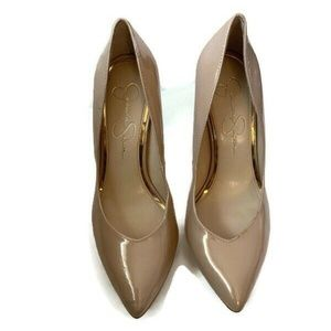 JESSICA  SIMPSON  Cambredge Faux Patent Leather Pu
